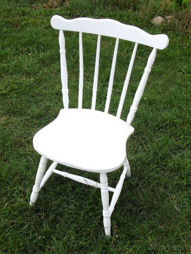 Krzesło po renowacji